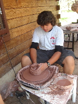 Pottery at Camp Cris Dobbins