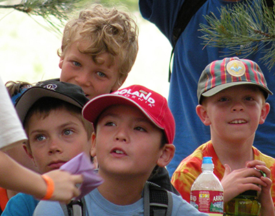 Cub Scouts at Magness Adventure Camp