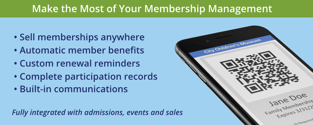 Membership Management Solutions for Museums, Zoos, Nature Centers and Other Nonprofits