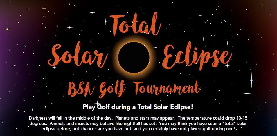 Total Solar Eclipse Golf Tournament is August 21, 2017 in Jefferson City & Columbia