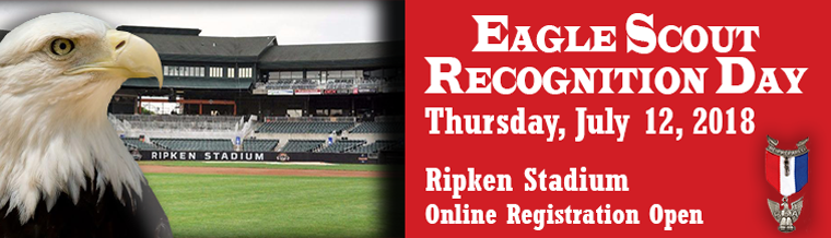 Eagle Scout Recognition Day at Ripken Stadium