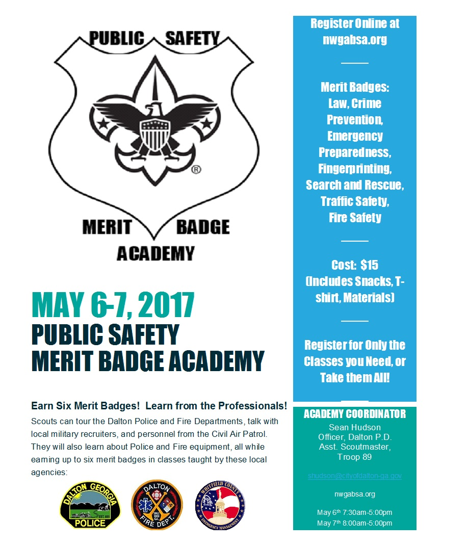 Public Safety Merit Badge Academy – Crime Prevention Merit Badge Worksheet