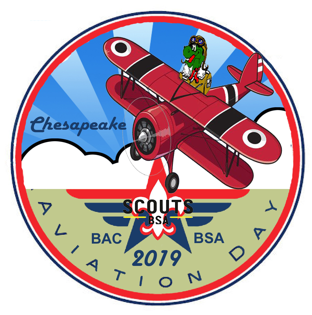 2019 Chesapeake District Aviation Day Patch