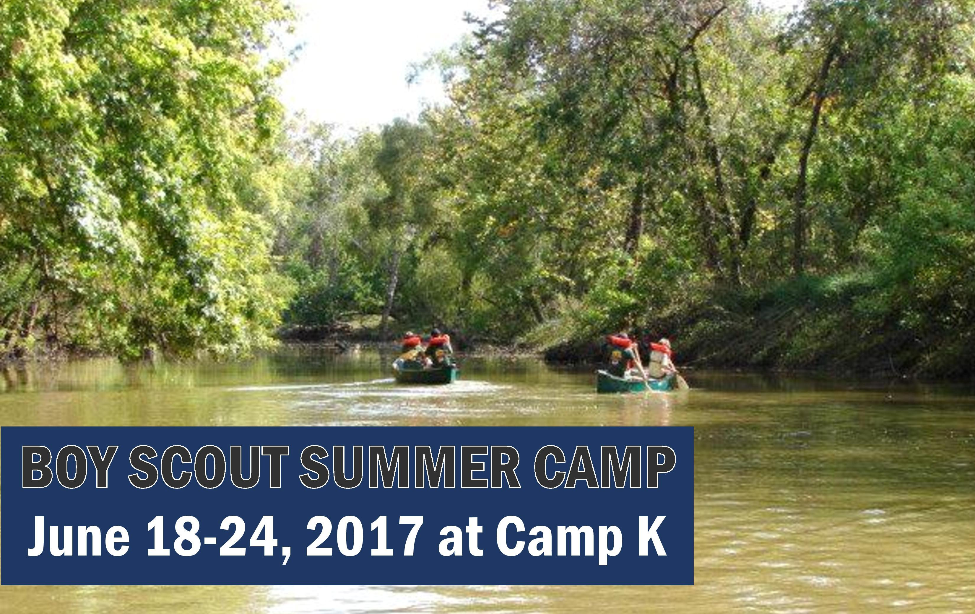 Camp K Summer Boy Scout Camp