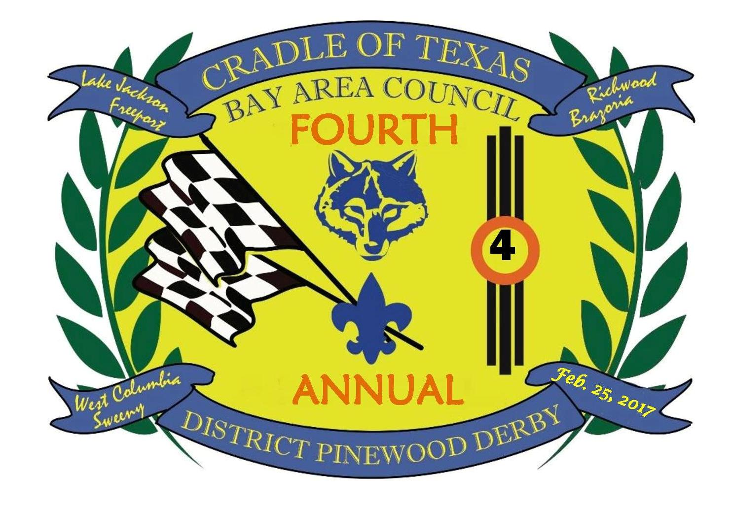 Cradle of Texas Pinewood Derby