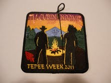 2013 Tepee Week Patch