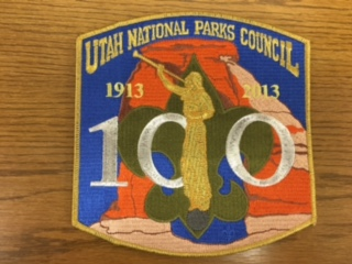 100 Year Anniversary of Scouting and the LDS Church Patch