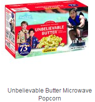 Unbelievable Butter Microwave Popcorn
