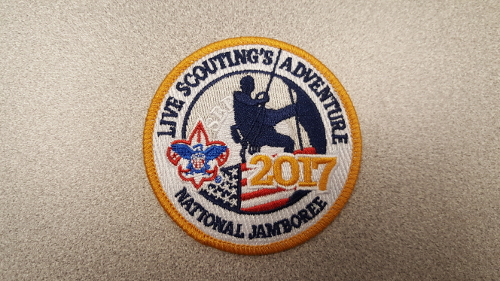 2017 National Jamboree Circle Patch