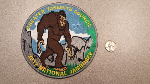 2017 National Jamboree GYC Jacket Patch