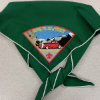 2010 Jamboree Green Troop Neckerchief
