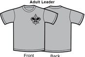 B. Adult Leader Women's T-Shirts