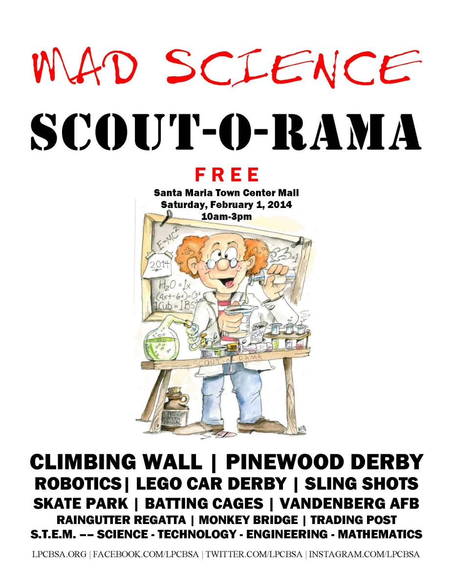 2014 Scout-O-Rama Poster