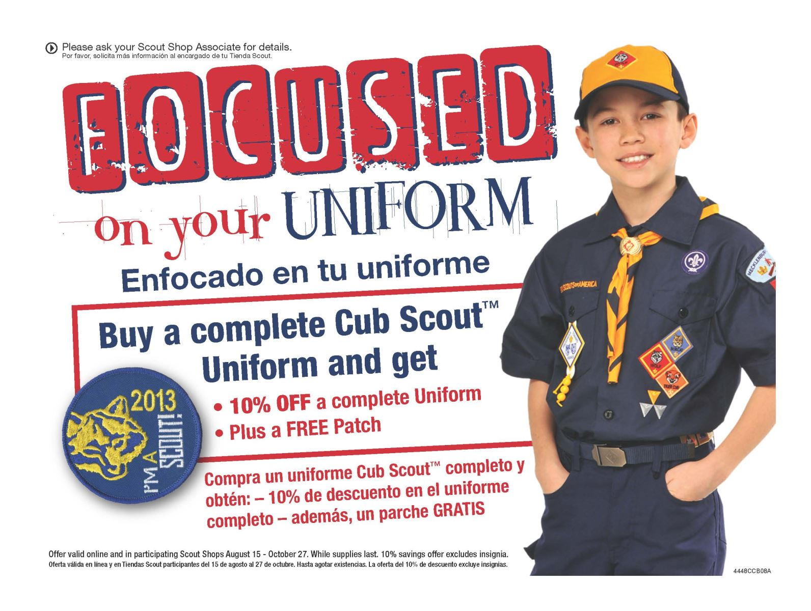 Cub Scout Uniform Sale