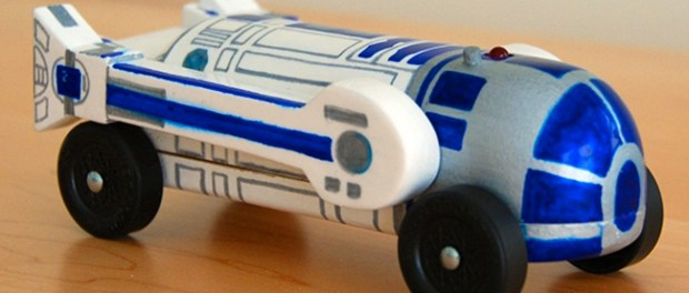 Good triumphs over evil family matters most and all the for Pinewood derby templates star wars